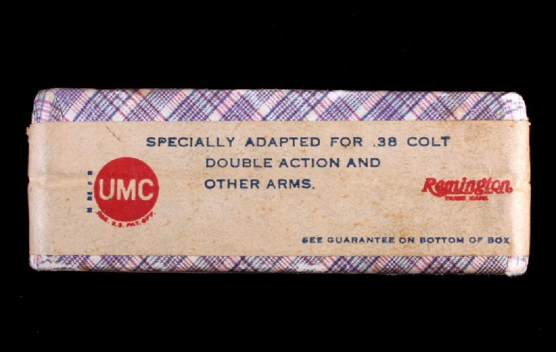 Unopened Remington UMC .38 Long Colt Ammunition - 8