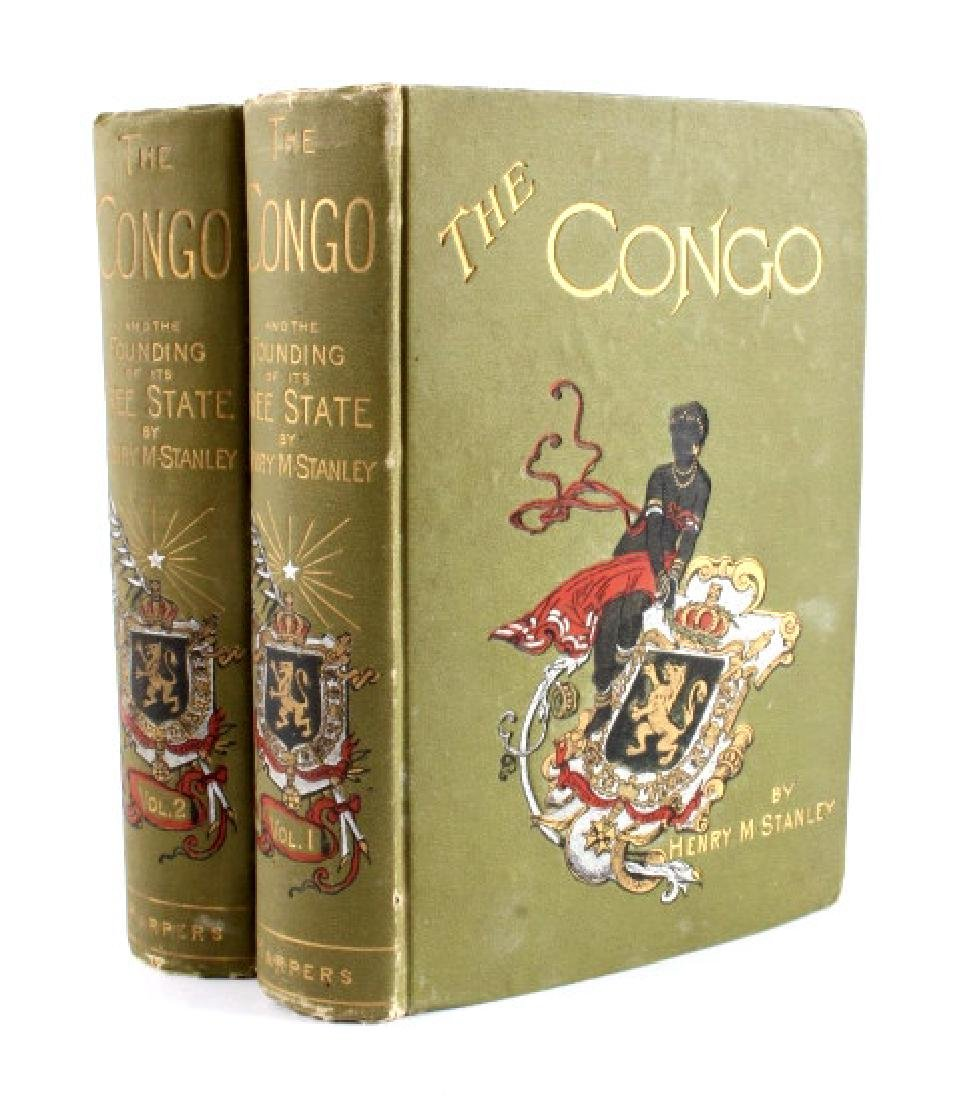 The Congo by Henry M. Stanley 1st Edition 1885