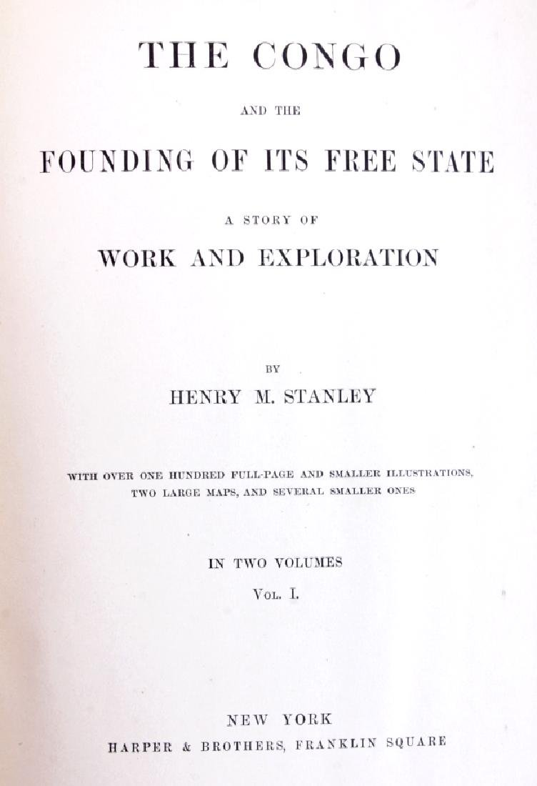 The Congo by Henry M. Stanley 1st Edition 1885 - 2