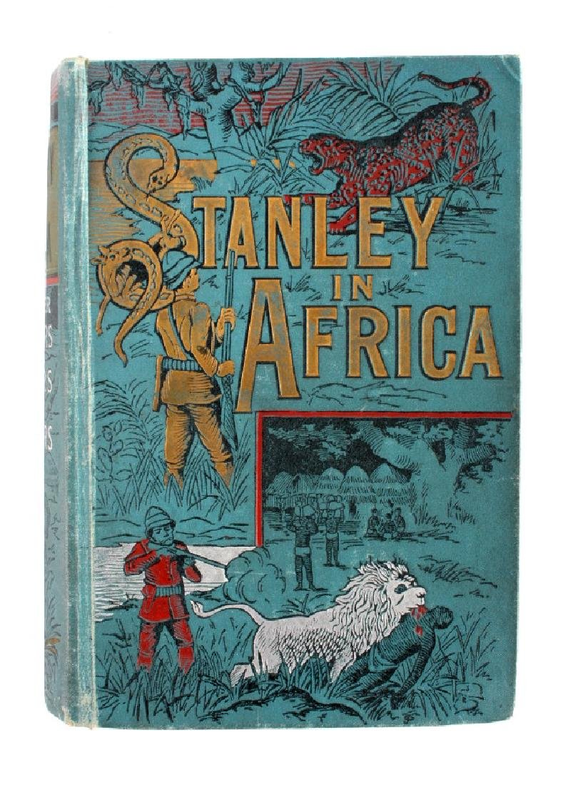 Stanley in Africa by Boyd First Edition 1889 - 13