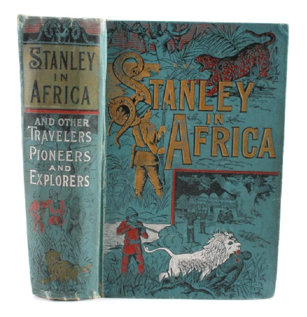 Stanley in Africa by Boyd First Edition 1889 - 2