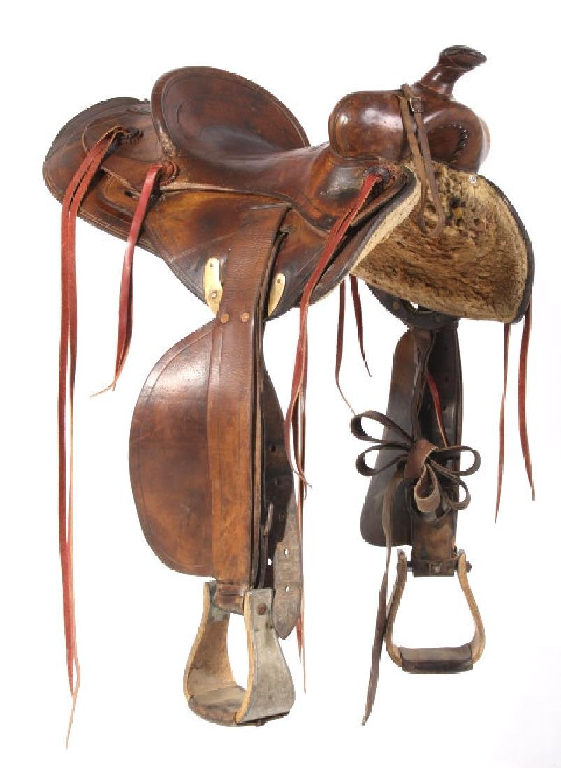 Jack Connolly Livingston, MT Custom Saddle c.1929- - 2