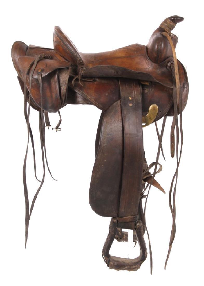 Jack Connolly Livingston, MT Custom Saddle c.1929-