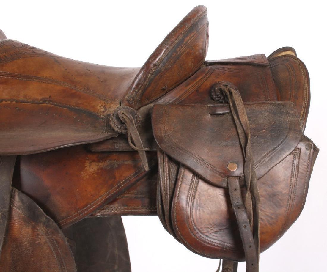 Jack Connolly Livingston, MT Custom Saddle c.1929- - 5