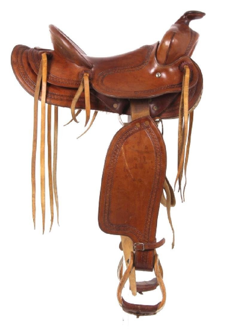 George Lawrence Hand Crafted Saddle Portland, Ore