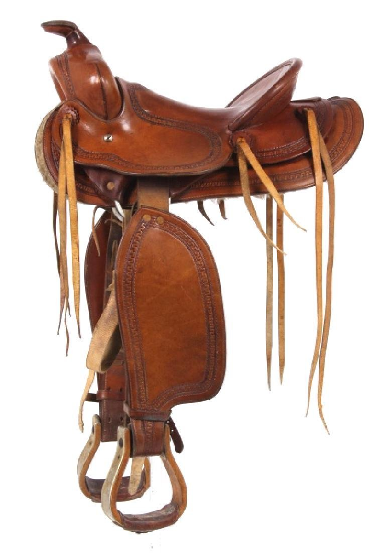 George Lawrence Hand Crafted Saddle Portland, Ore - 2
