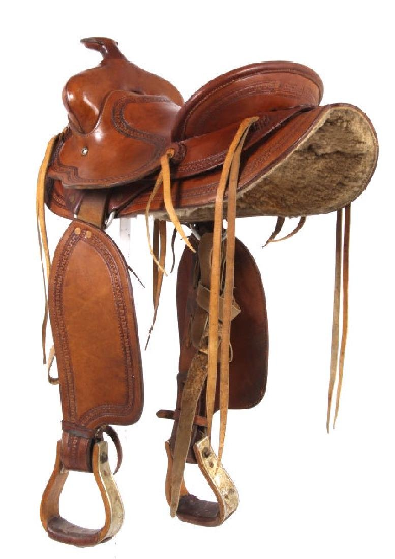 George Lawrence Hand Crafted Saddle Portland, Ore - 3