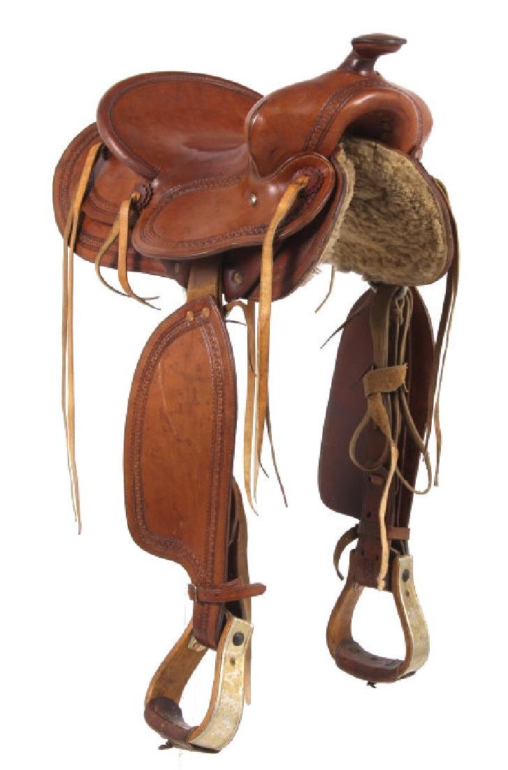George Lawrence Hand Crafted Saddle Portland, Ore - 4