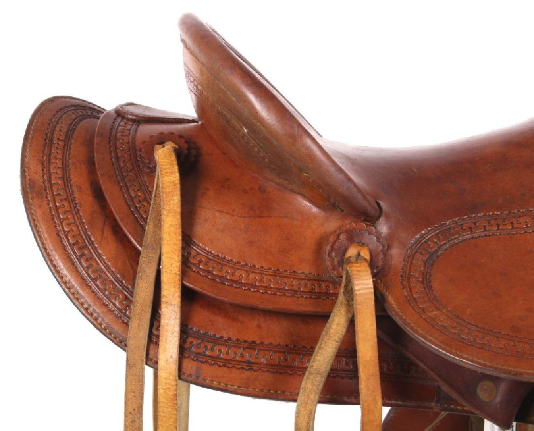 George Lawrence Hand Crafted Saddle Portland, Ore - 6