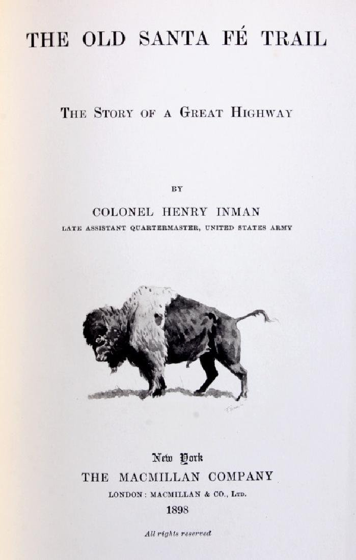 The Old Santa Fe Trail by Colonel Inman 1898 - 3