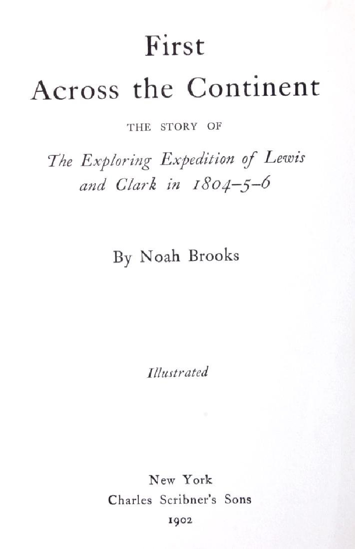 First Across the Continent by Noah Brooks 1902 - 3