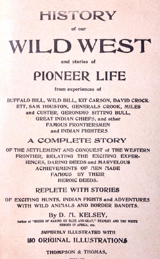 History of Our Wild West First Edition 1901 - 3