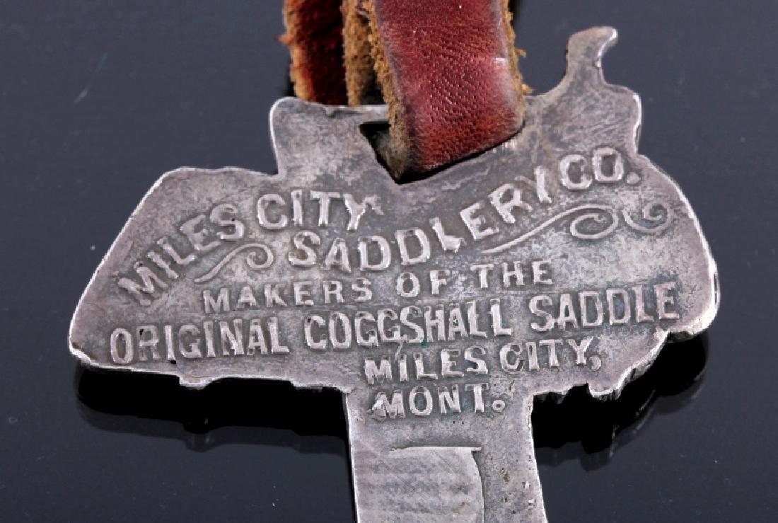 Miles City Saddlery Coggshall Saddle Watch Fobs - 10