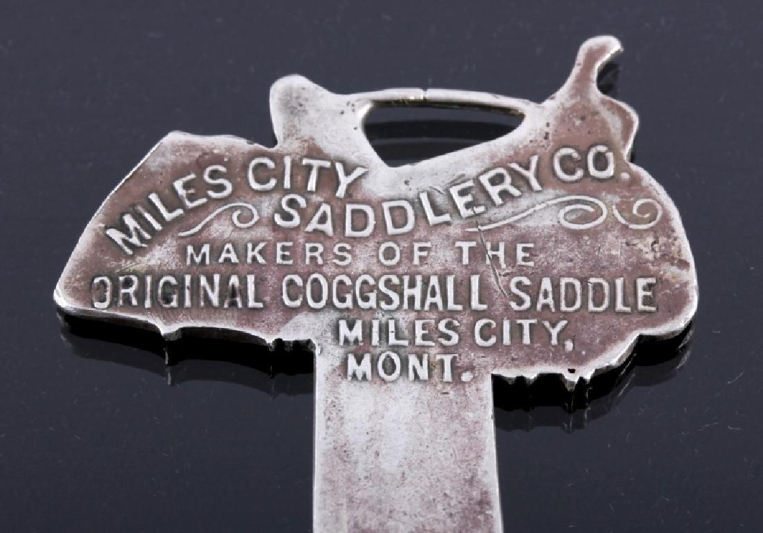 Miles City Saddlery Coggshall Saddle Watch Fobs - 5