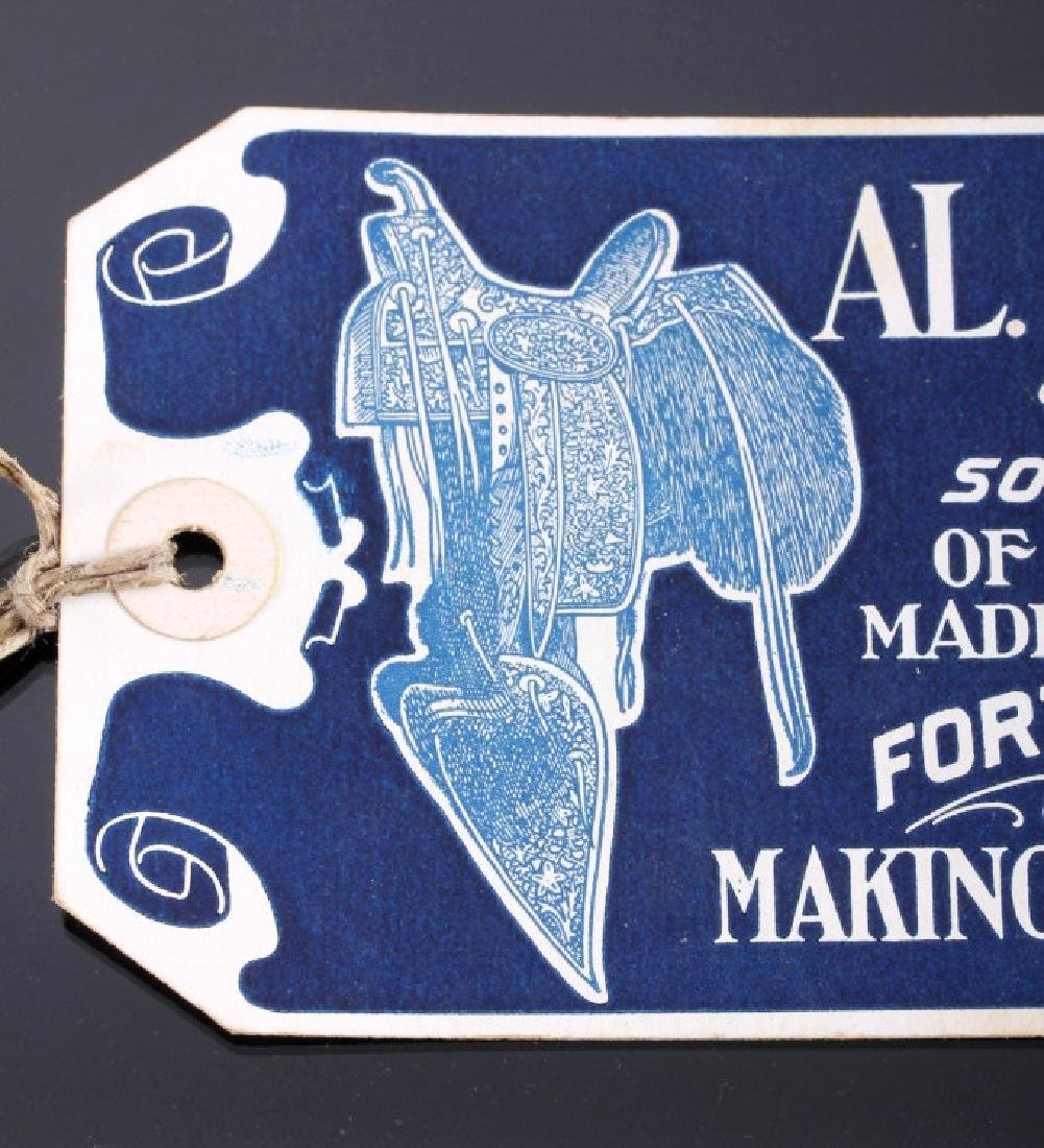 Al Furstnow Saddle Watch Fob and Shipping Tag - 7
