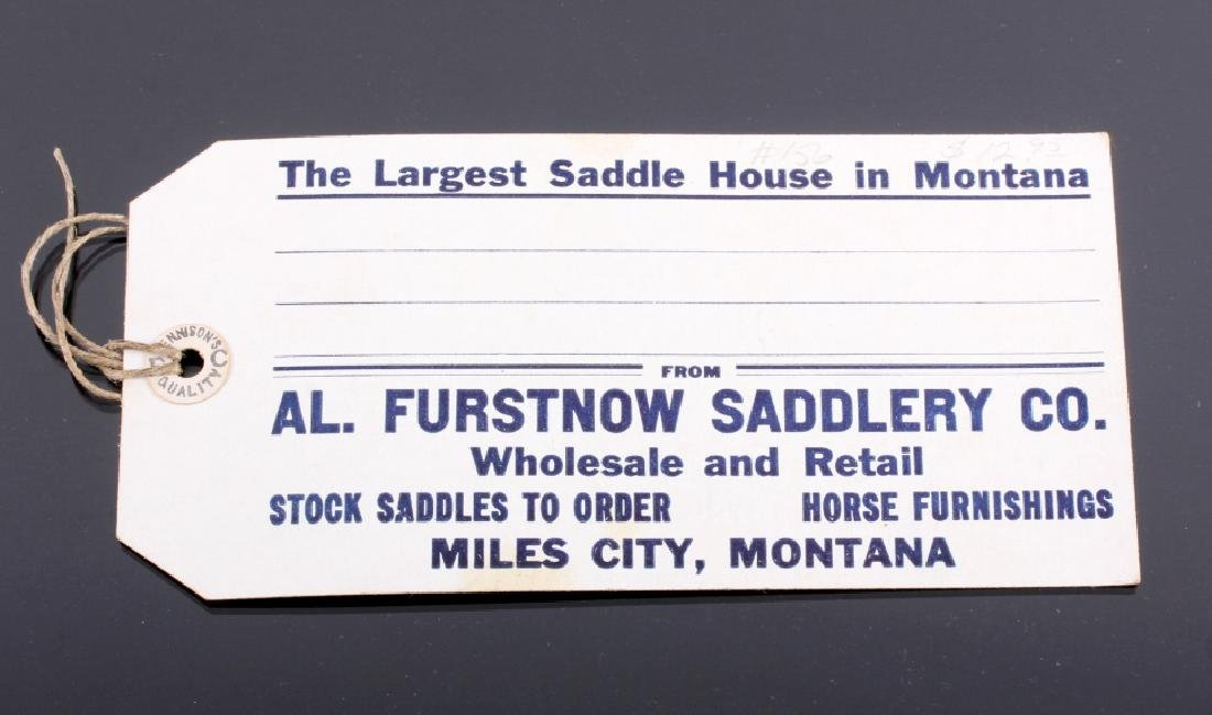 Al Furstnow Saddle Watch Fob and Shipping Tag - 9