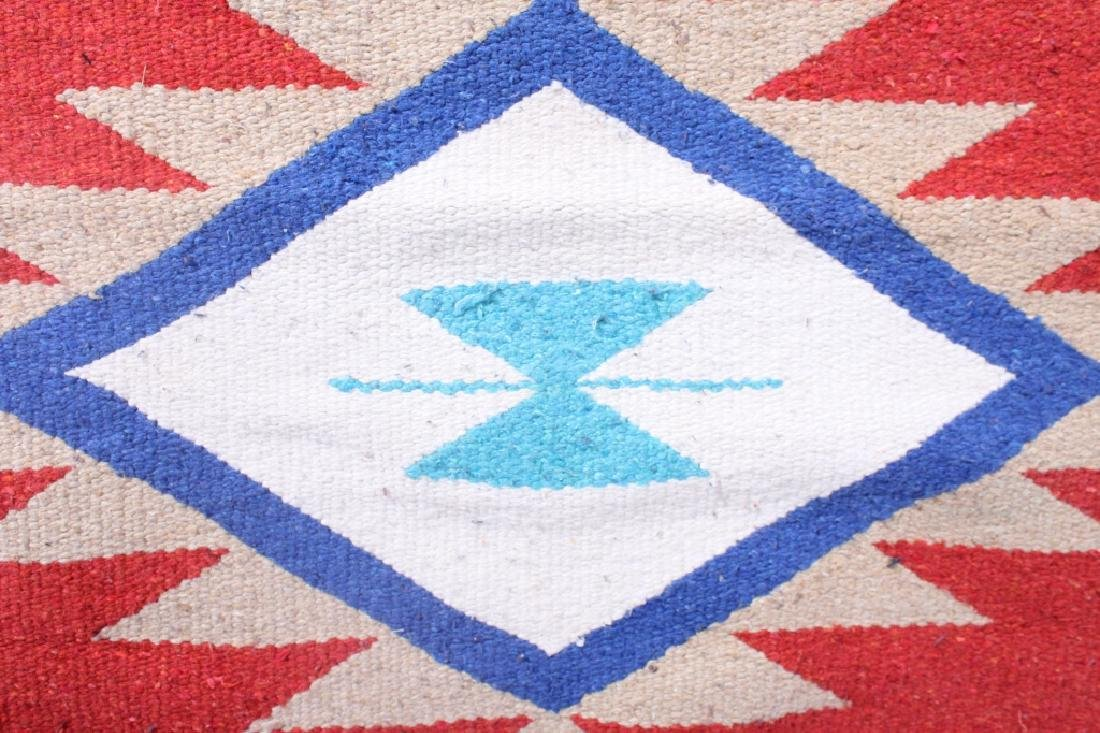 Navajo Native American Indian Hand Woven Rug - 2