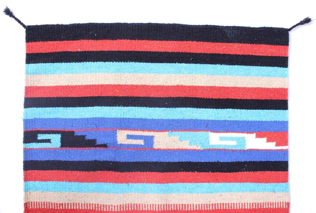 Navajo Native American Indian Hand Woven Rug - 6