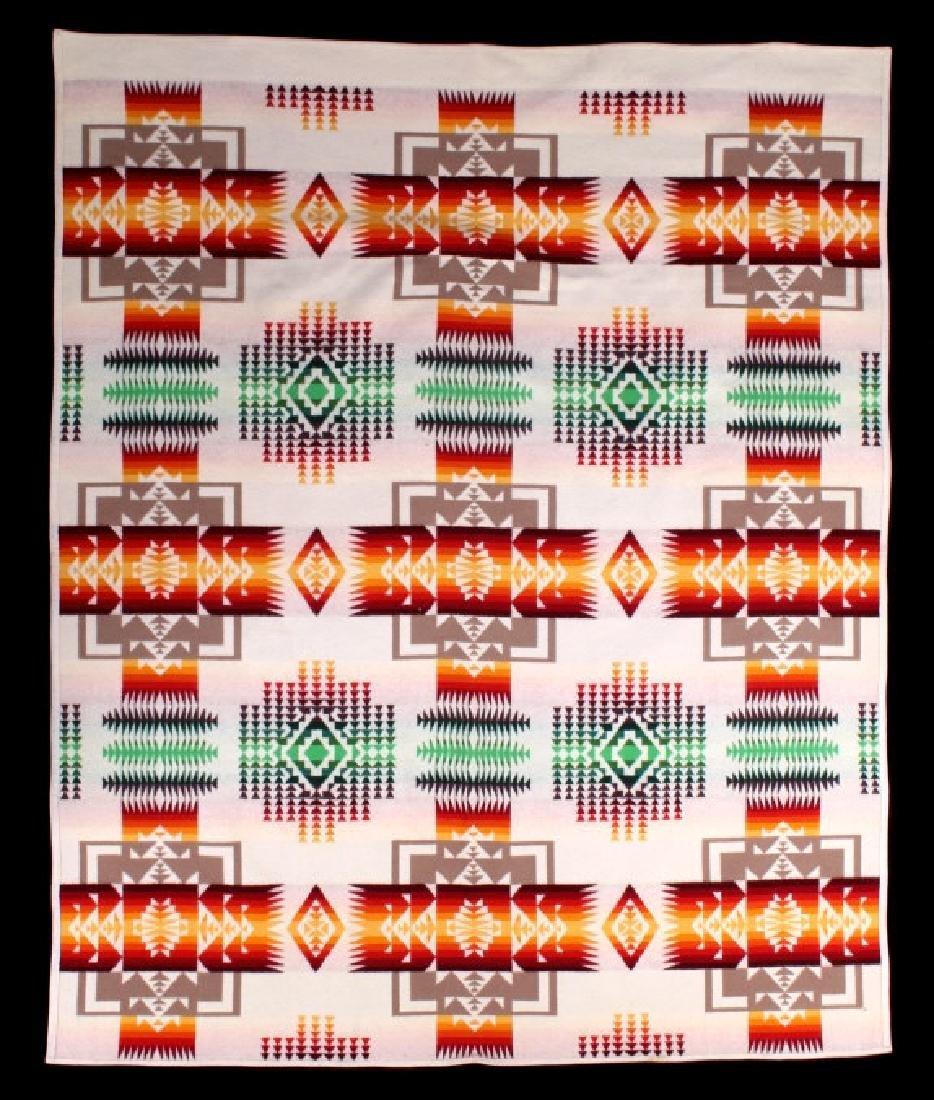 Pendleton Chief Joeseph Beaver State Wool Blanket