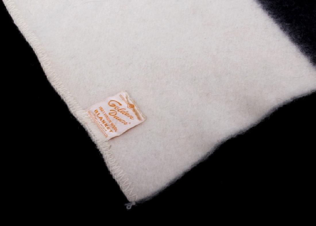Golden Dawn Wool Trade Blanket c. 1940's - 2