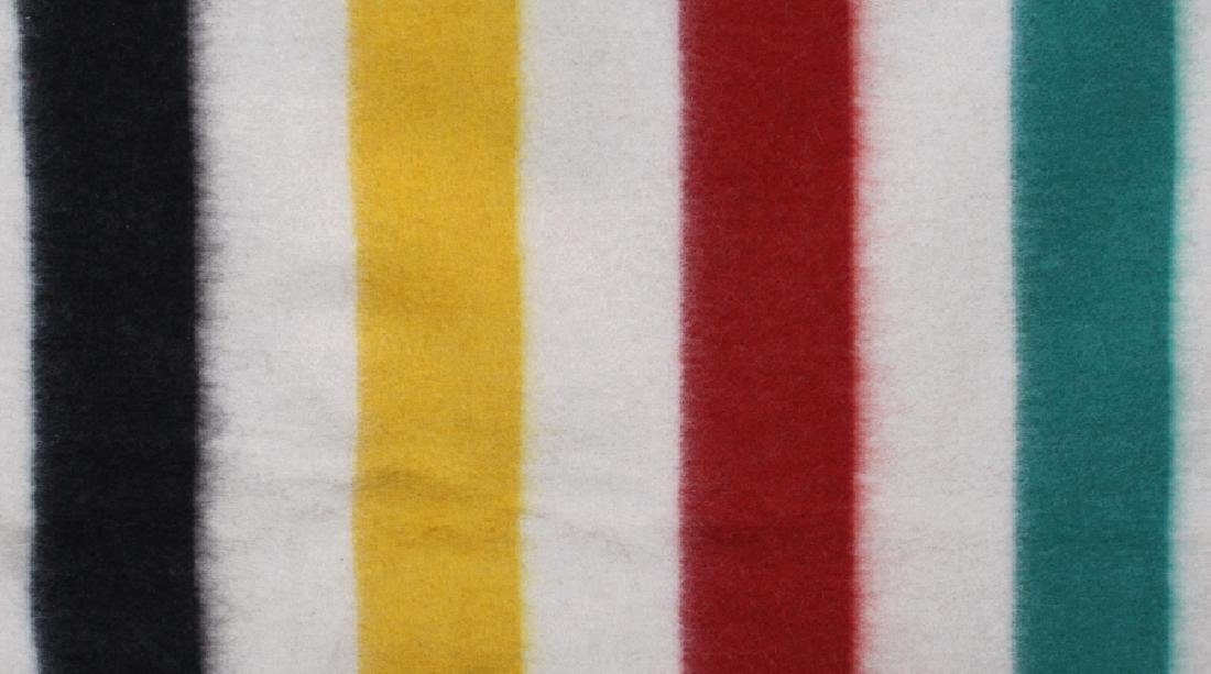 Golden Dawn Wool Trade Blanket c. 1940's - 4