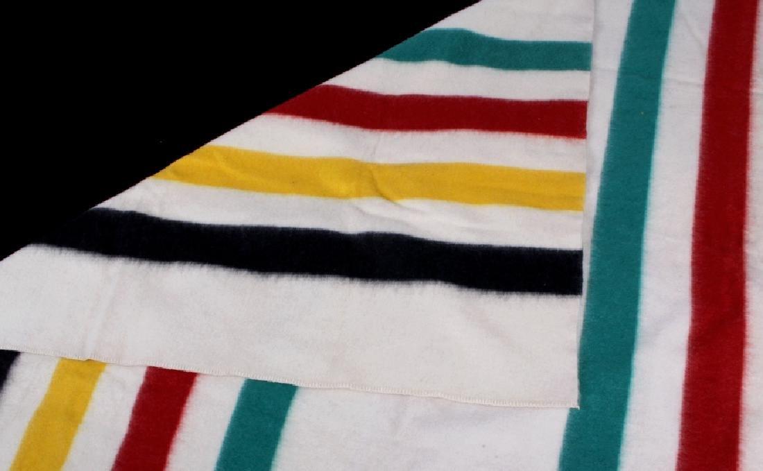 Golden Dawn Wool Trade Blanket c. 1940's - 5