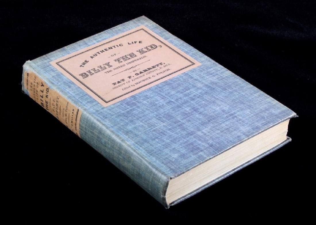 The Authentic Life of Billy the Kid First Edition