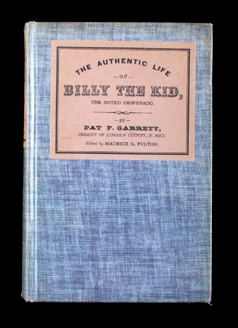 The Authentic Life of Billy the Kid First Edition - 2