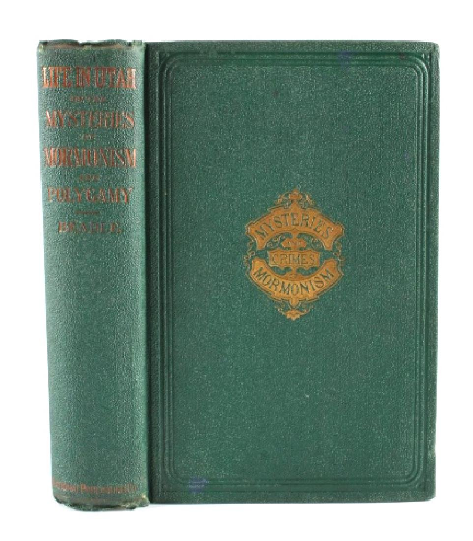 Mysteries and Crimes of Mormonism 1st Ed. 1870 - 2