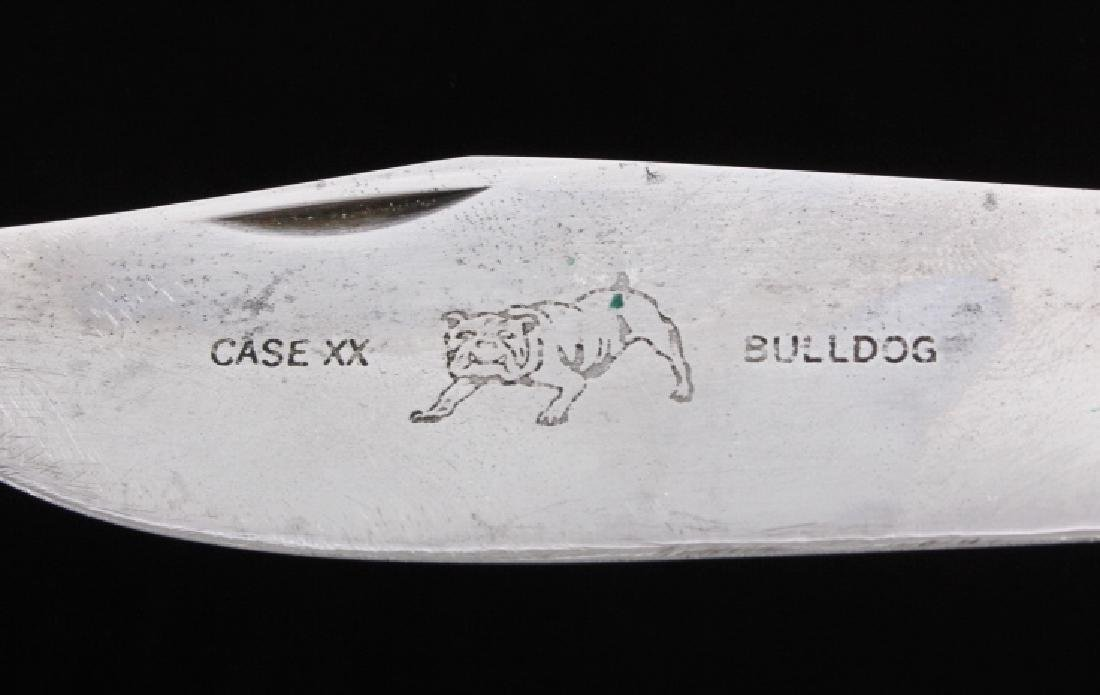Case Bulldog Stag Handle Folding Knife - 5
