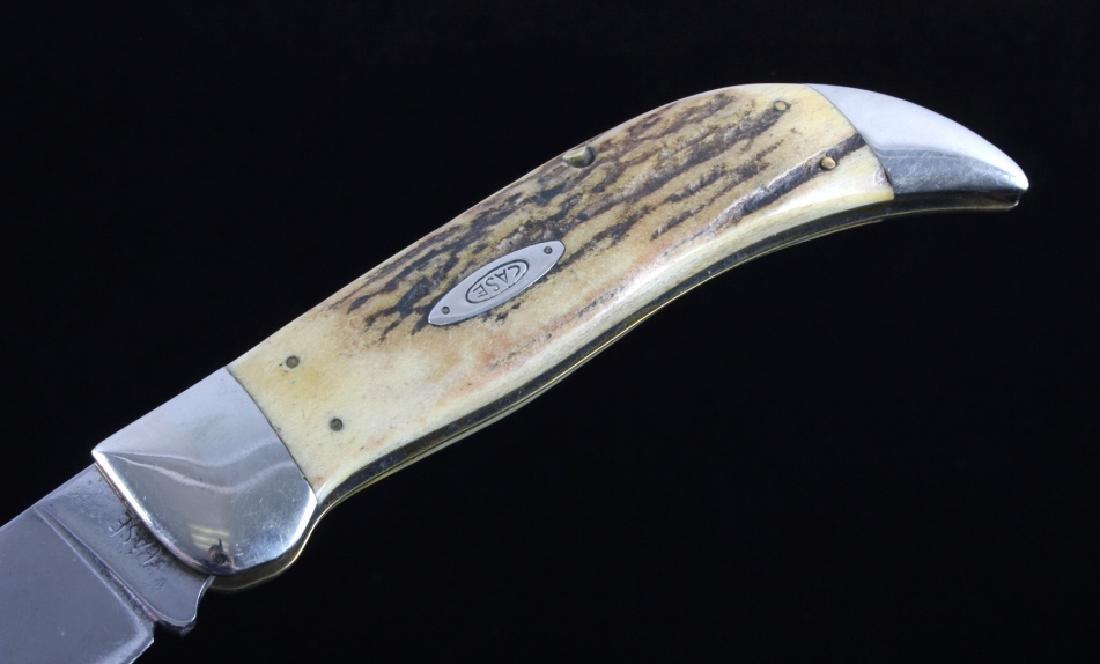 Case Bulldog Stag Handle Folding Knife - 7