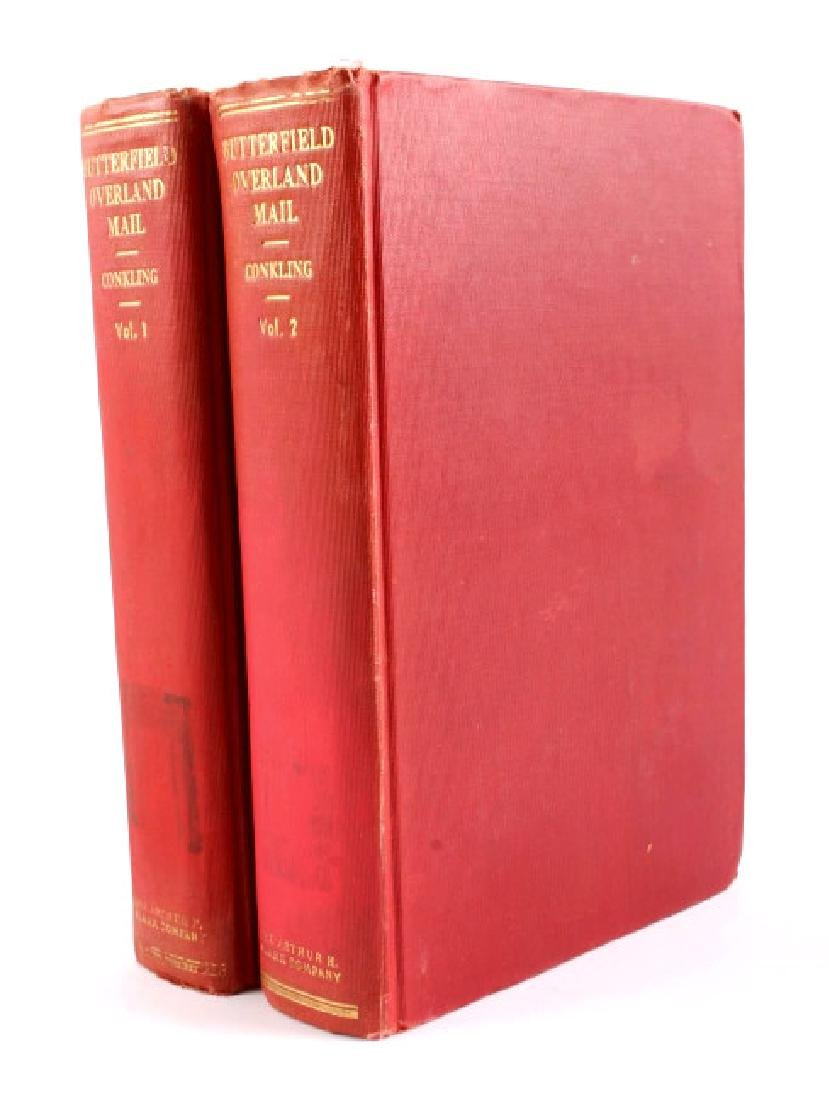 Butterfield Overland Mail Volumes I & II