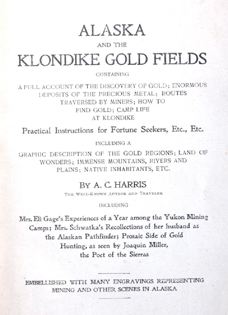 Alaska and the Gold Fields 1st Edition 1897 - 3