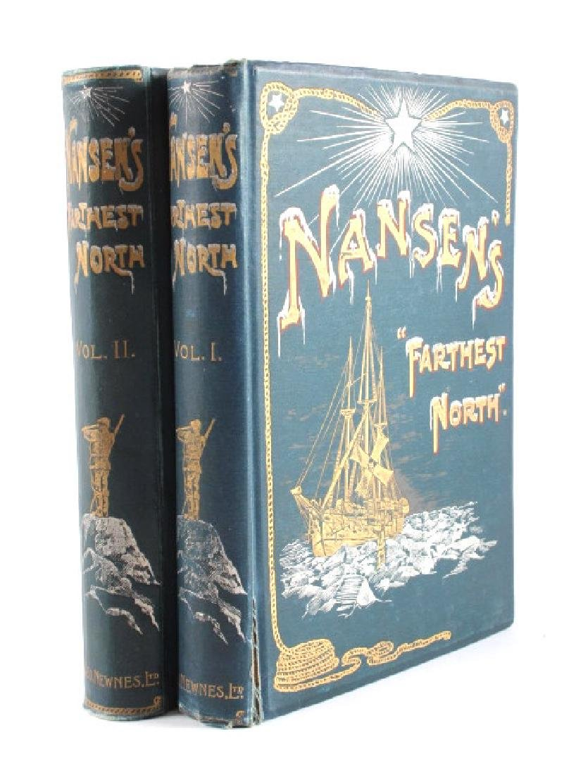 Farthest North by Fridtjof Nansen 1st Edition 1898