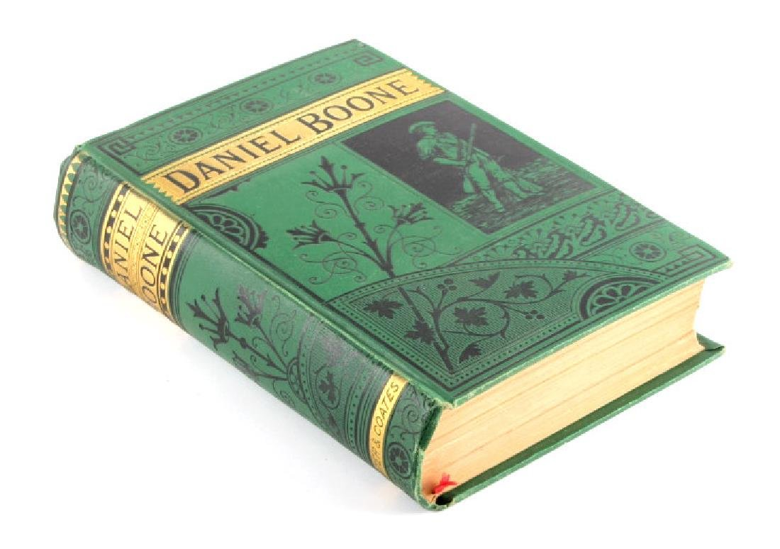 Life of Daniel Boone by Hartley First Edition 1865