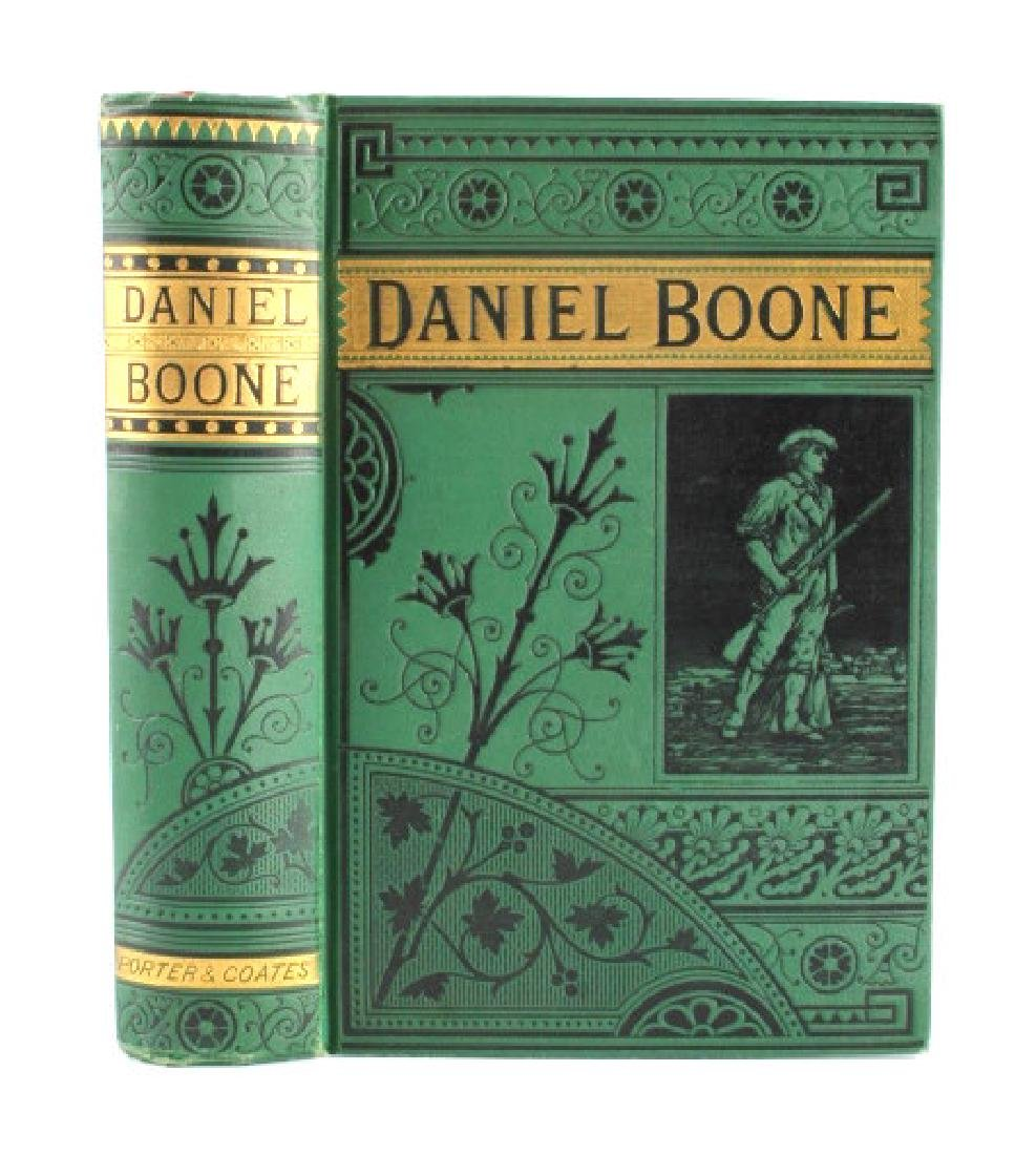 Life of Daniel Boone by Hartley First Edition 1865 - 2