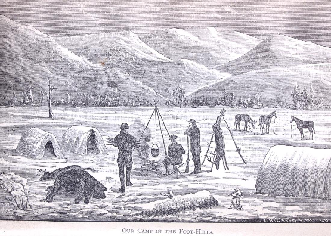 Hunting in the Great West by Shields 1884 - 4