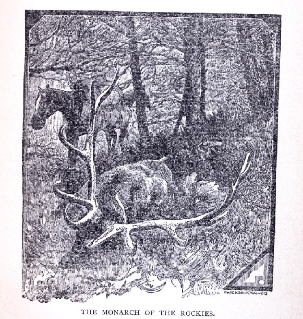 Hunting in the Great West by Shields 1884 - 6