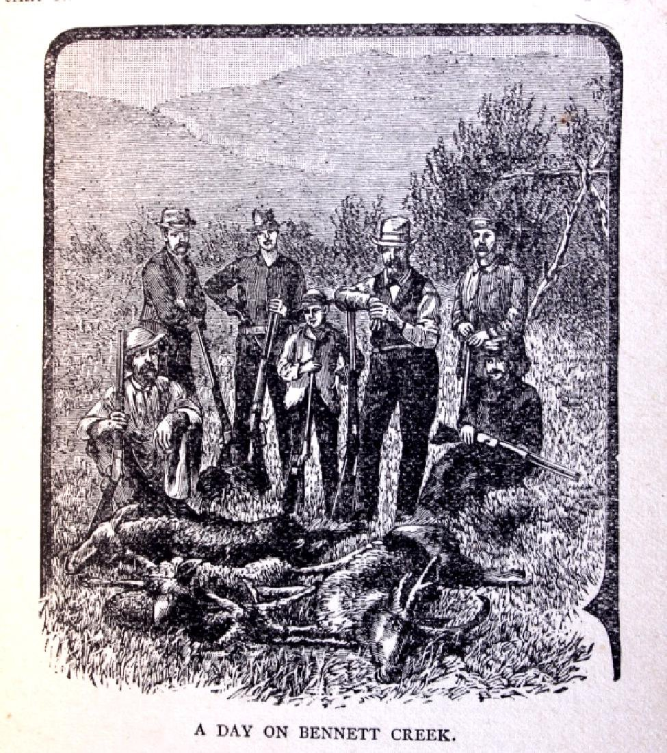Hunting in the Great West by Shields 1884 - 7