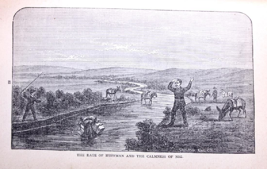 Hunting in the Great West by Shields 1884 - 9