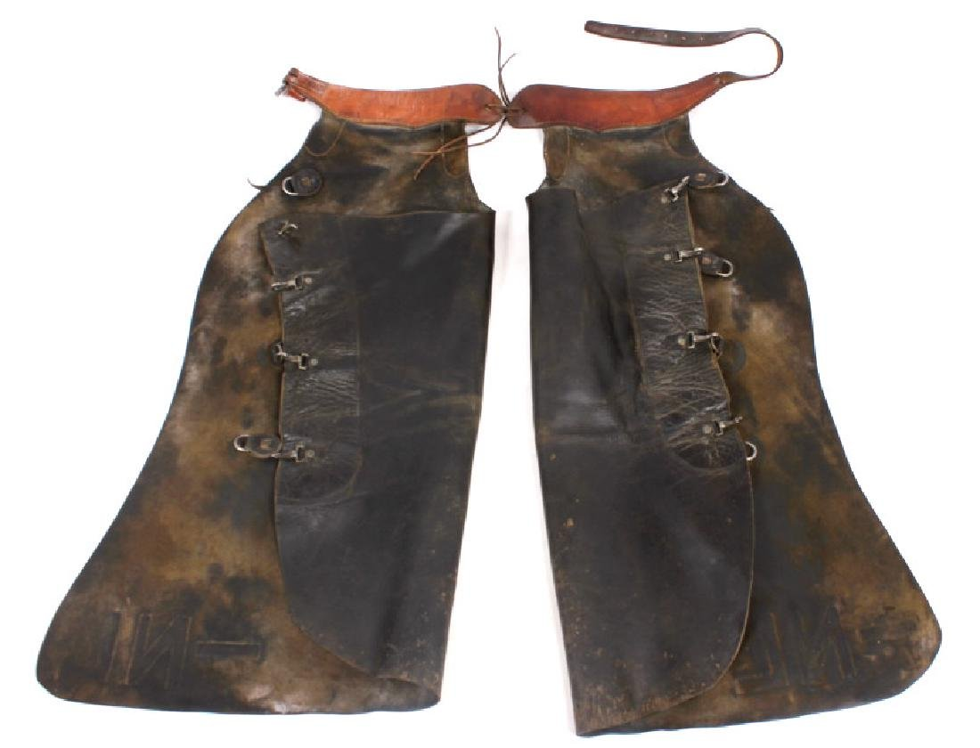 Victor Ario Saddlery Great Falls, MT Batwing Chaps - 12