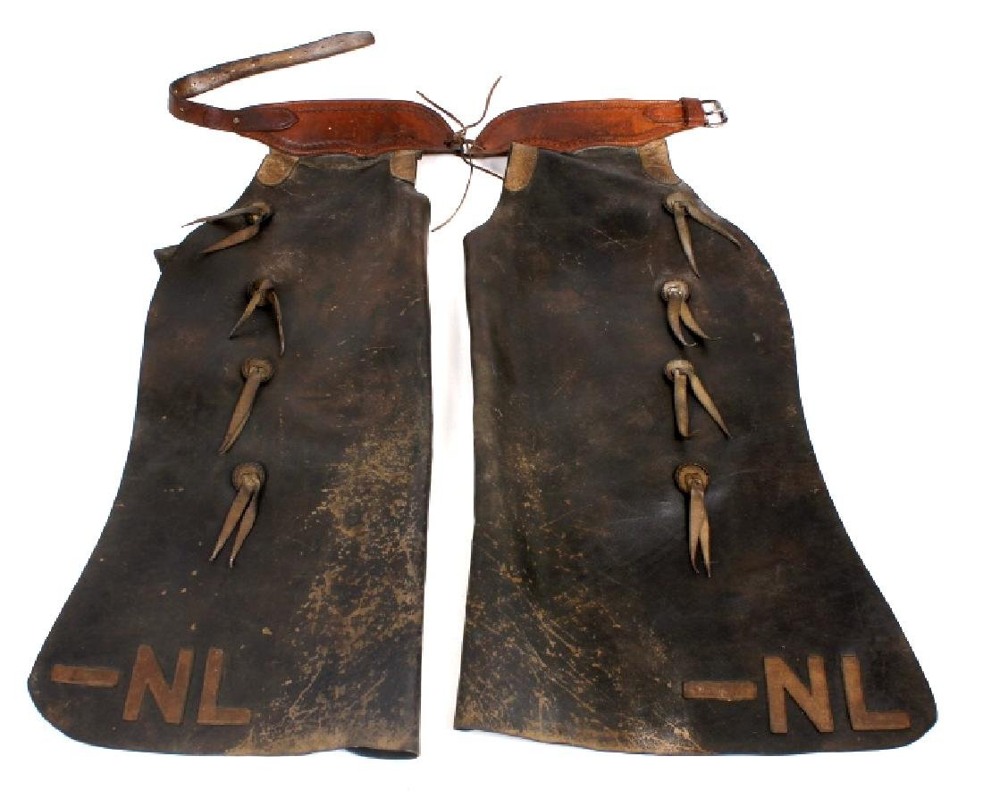 Victor Ario Saddlery Great Falls, MT Batwing Chaps
