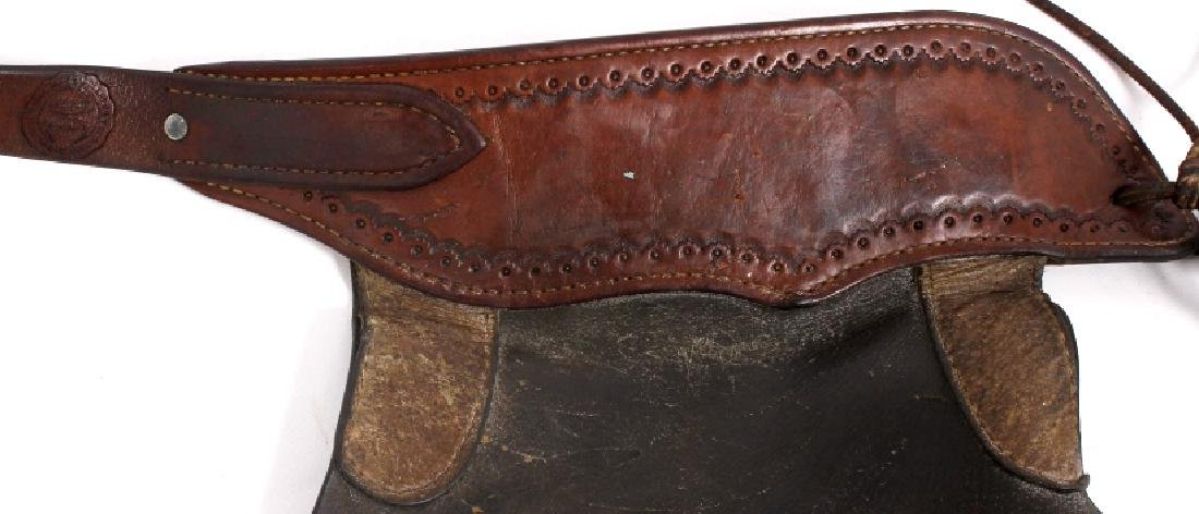 Victor Ario Saddlery Great Falls, MT Batwing Chaps - 5