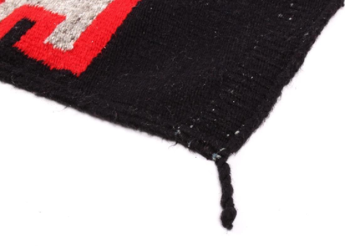 Navajo Native American Klagetoh Style Wool Rug - 2