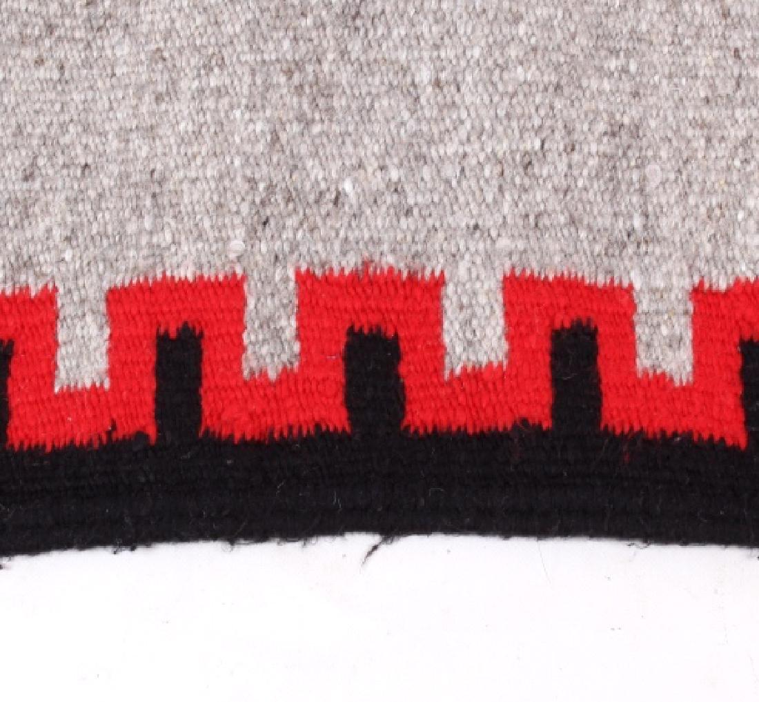 Navajo Native American Klagetoh Style Wool Rug - 3