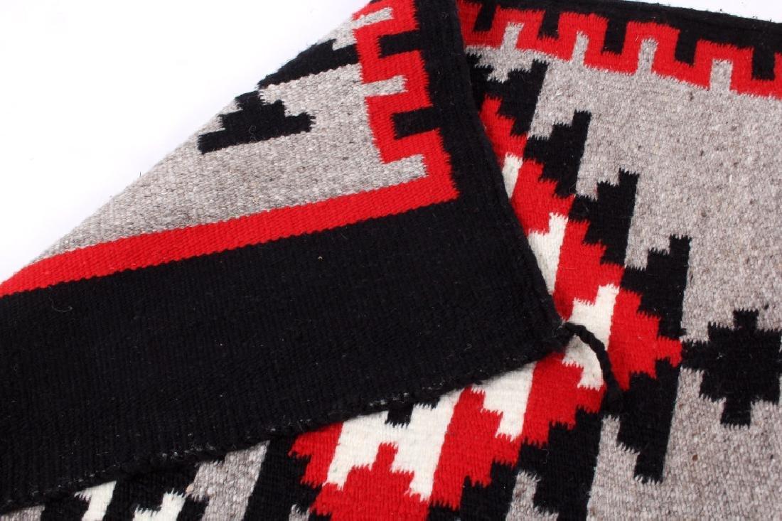 Navajo Native American Klagetoh Style Wool Rug - 4