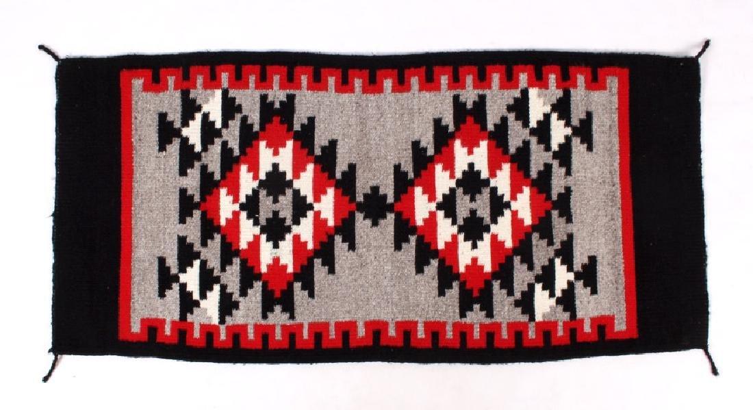 Navajo Native American Klagetoh Style Wool Rug - 5