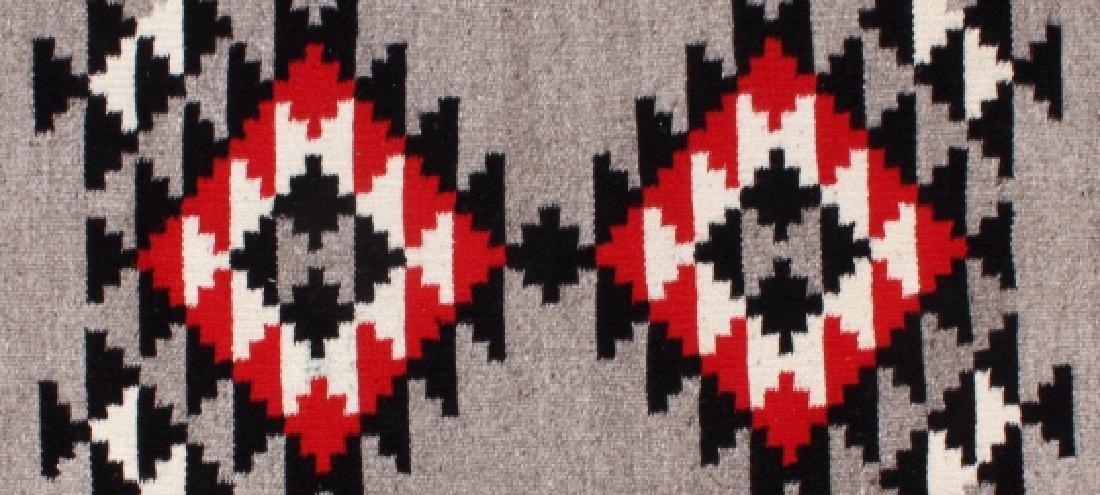 Navajo Native American Klagetoh Style Wool Rug - 6