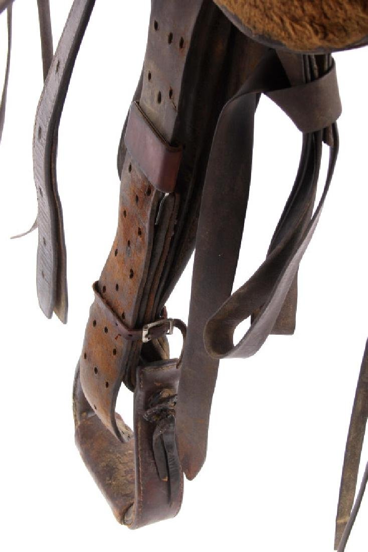 Santa Fe, New Mexico Custom Tooled Saddle - 8