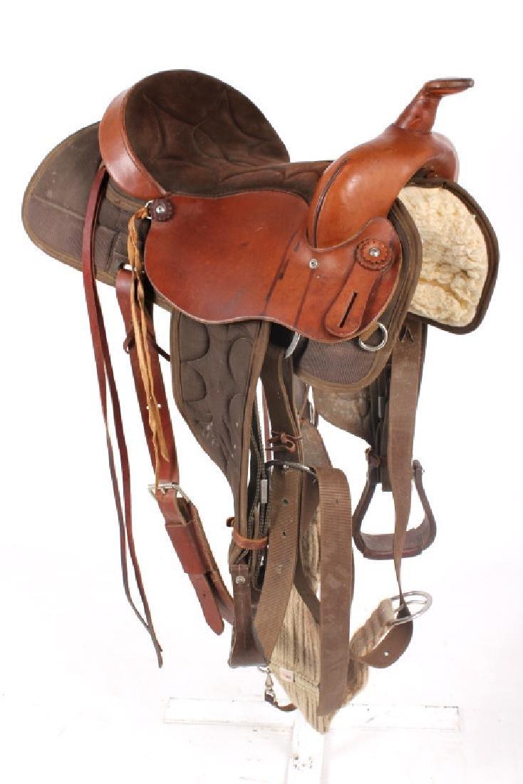 Court's Cordura Trail Saddle - 2